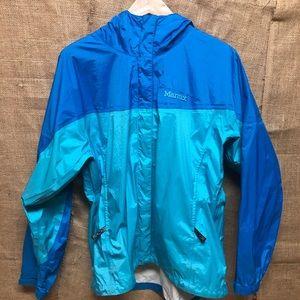 Marmot precip blue rain jacket